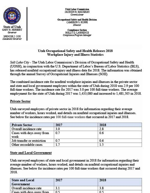 2018 SOII press release