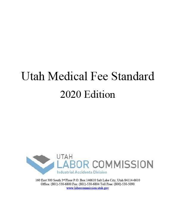 2020 Medical Fee Standards