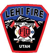 Lehi Fire Logo